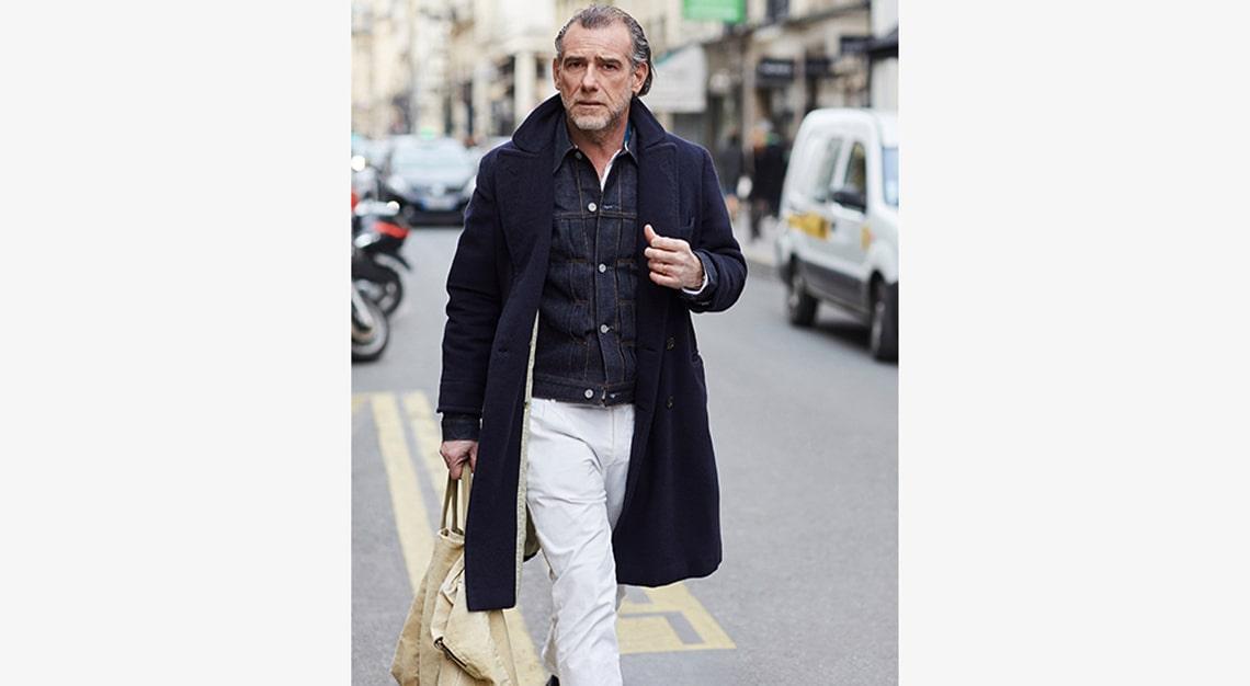 Sartorialist (White jeans)