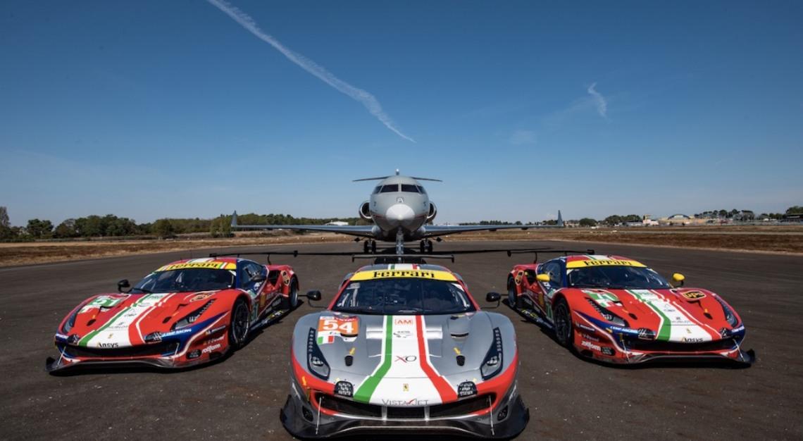 Vista Global, Ferrari Races