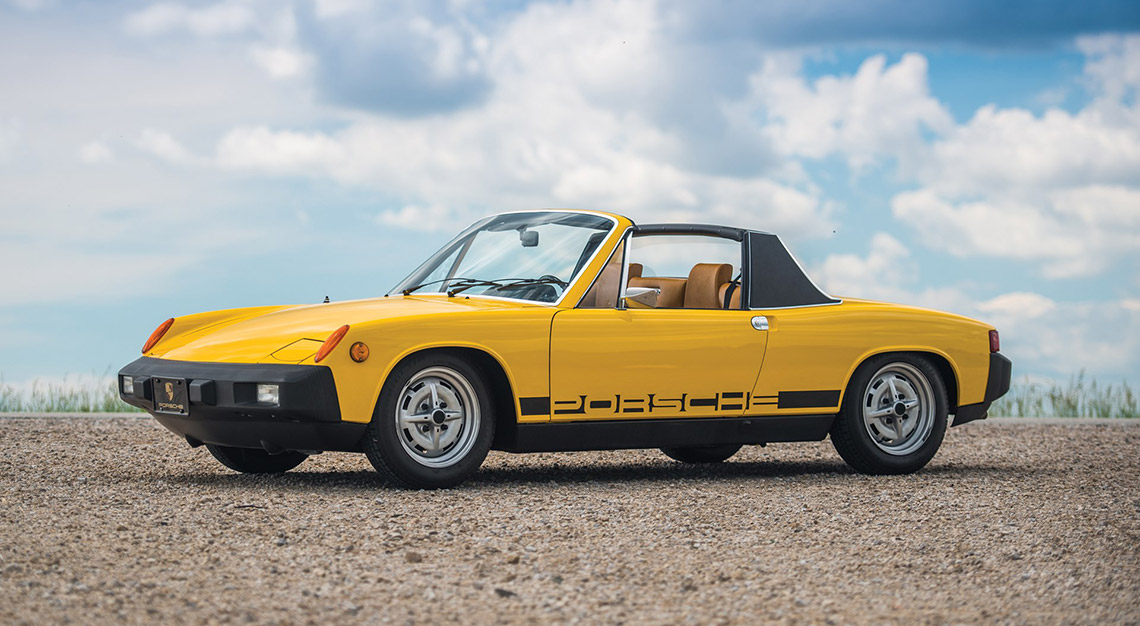 Classic cars, Porsche 914