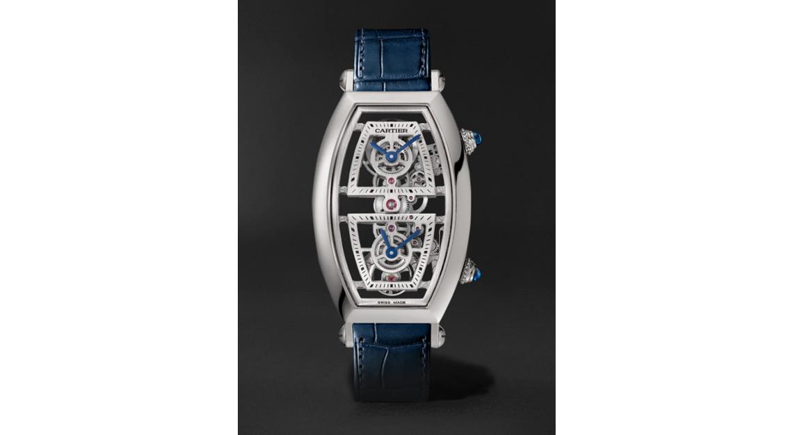 Cartier Tonneau XL Dual Time Limited Edition