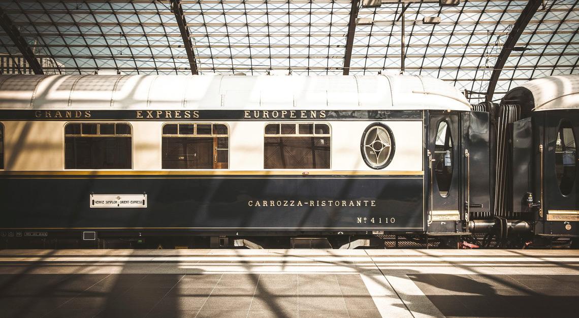 luxury train trips