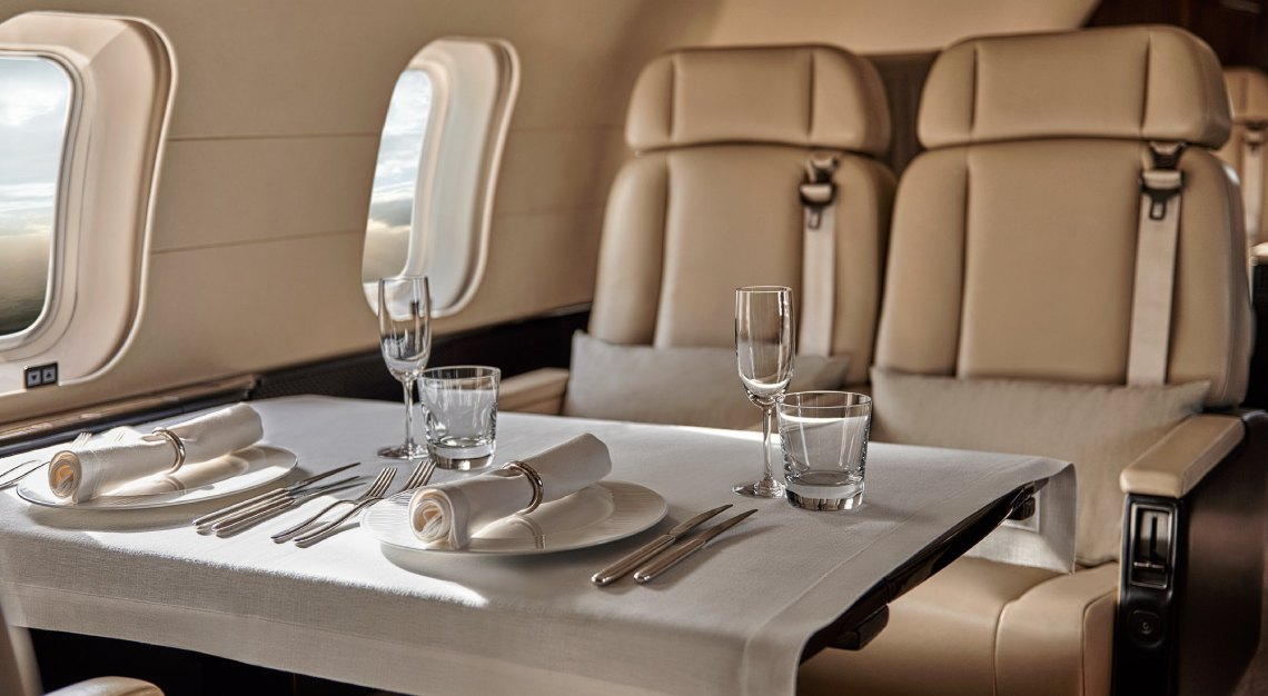 aman private jet