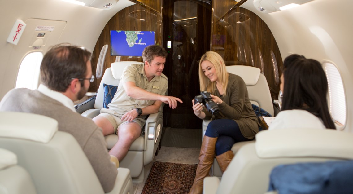 andbeyond private jet journeys