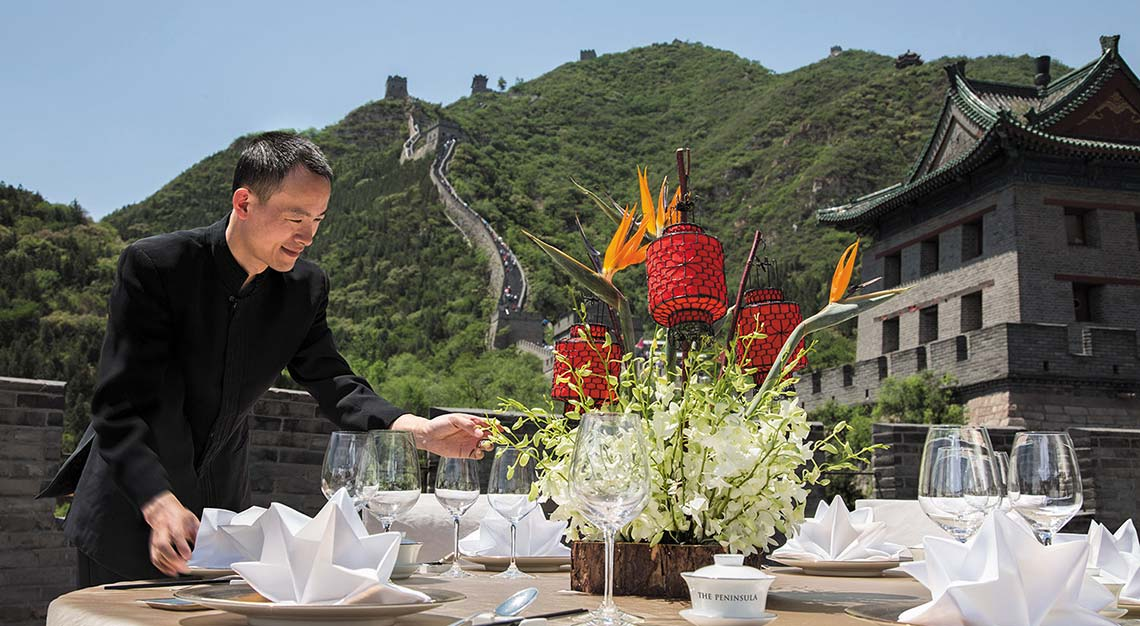 Great Wall of China Dining Experience
