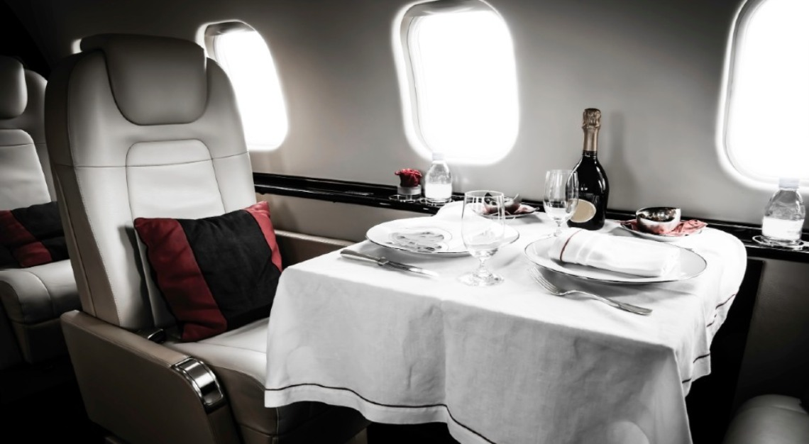 flying private