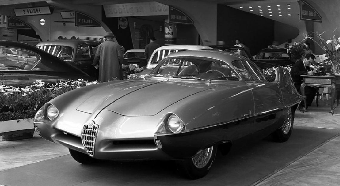 alfa romeo BAT car