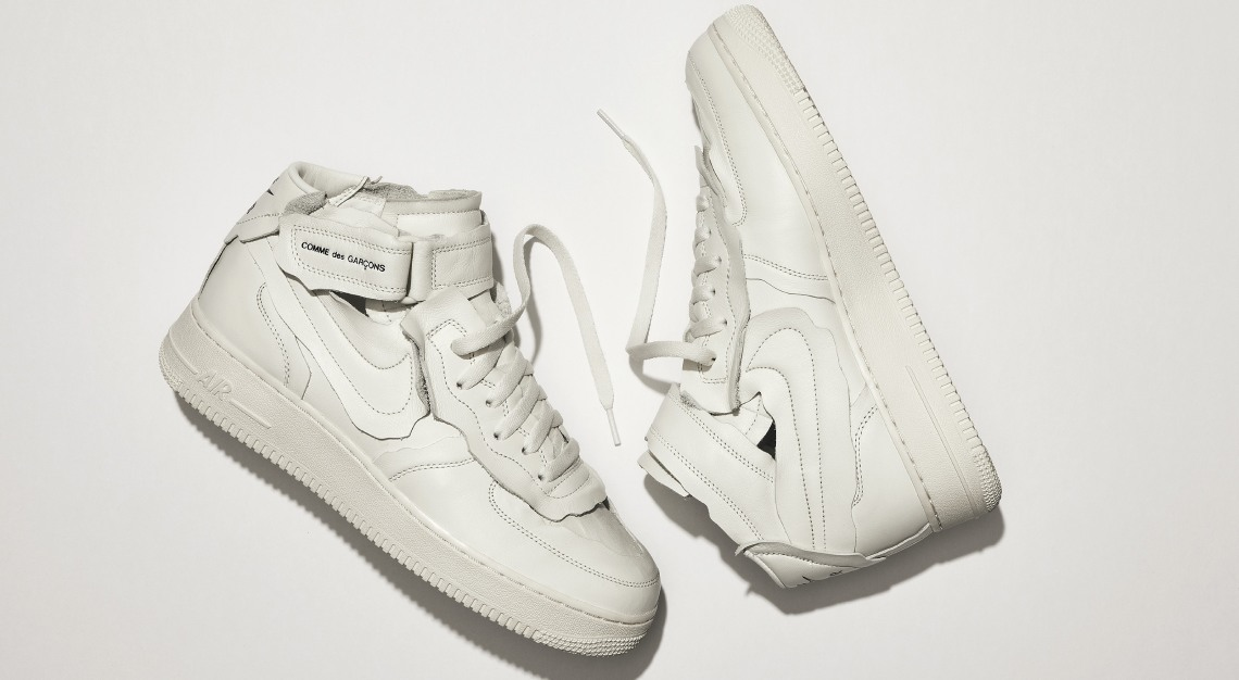 Nike Comme des Garçons Air Force 1