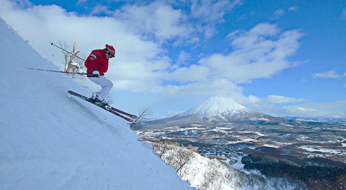 Marcus John Skiing