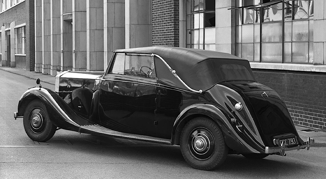 1935 Drophead Bentley Mark IV