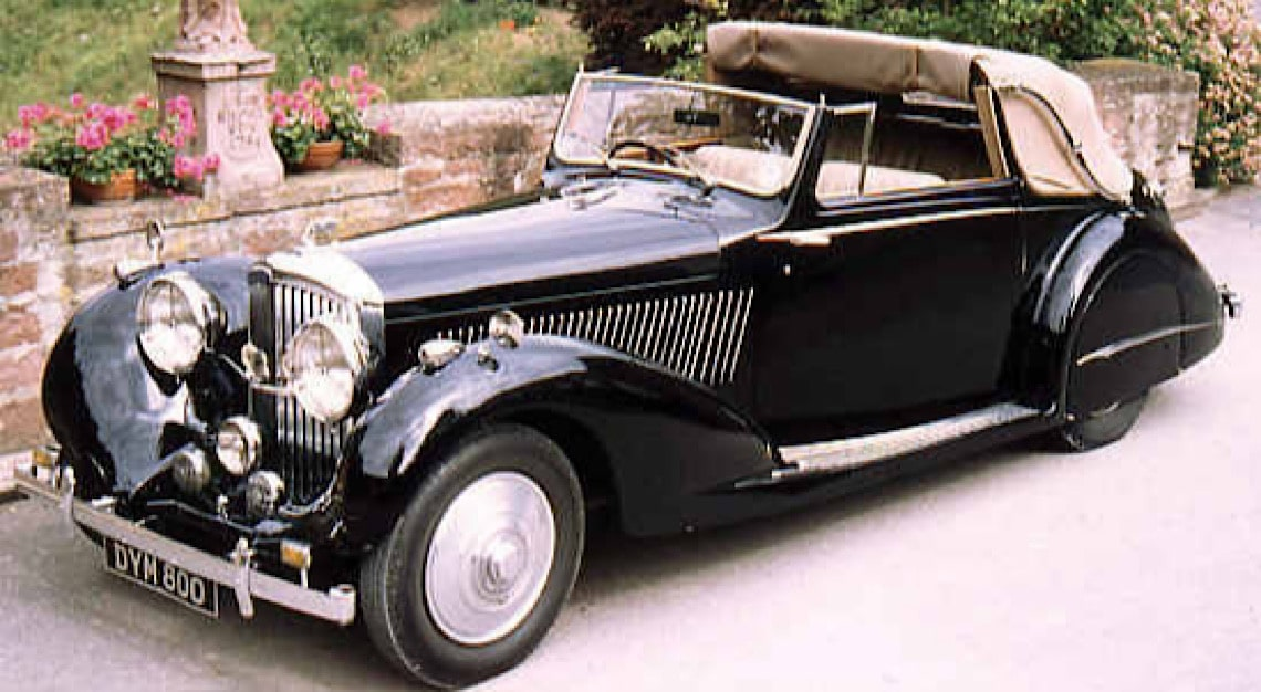 1937 Bentley Drophead Coupé