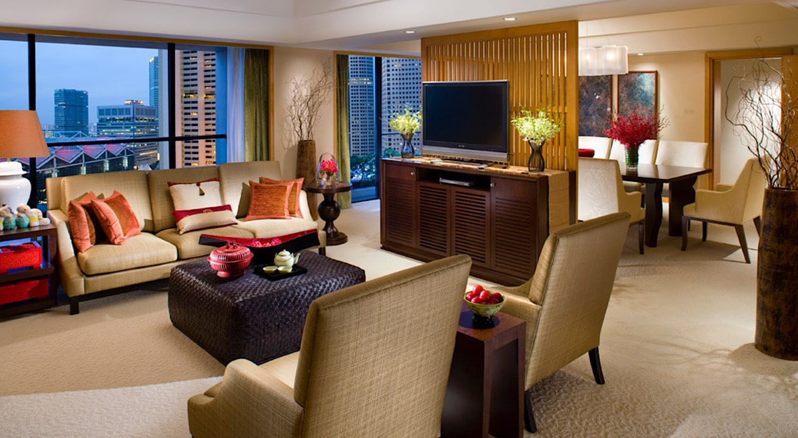 Live the Suite Life Mandarin Oriental