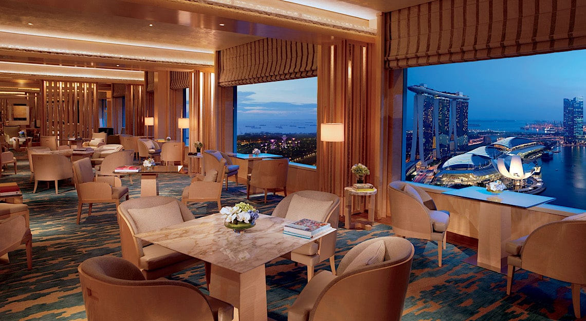Ritz-Carlton Singapore Club Lounge