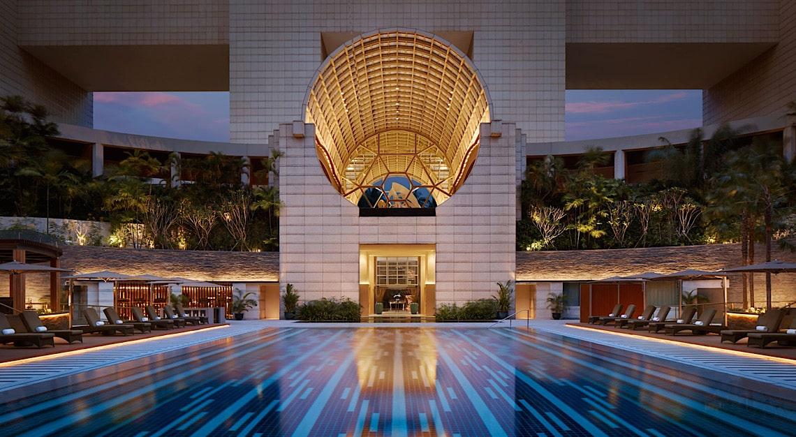 Ritz-Carlton Singapore Pool