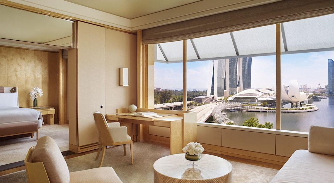 Ritz-Carlton Singapore Premier Suite