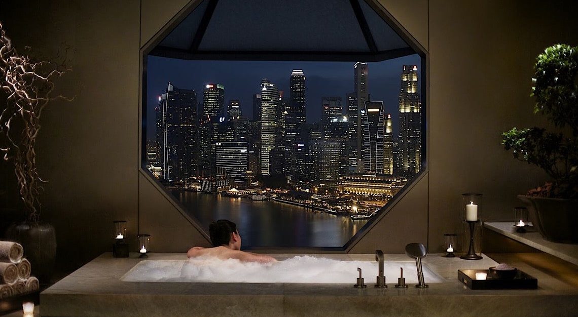 Ritz-Carlton Singapore Bathroom