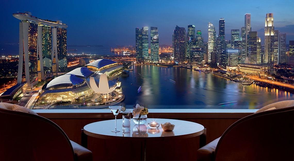Ritz-Carlton Club Lounge Views