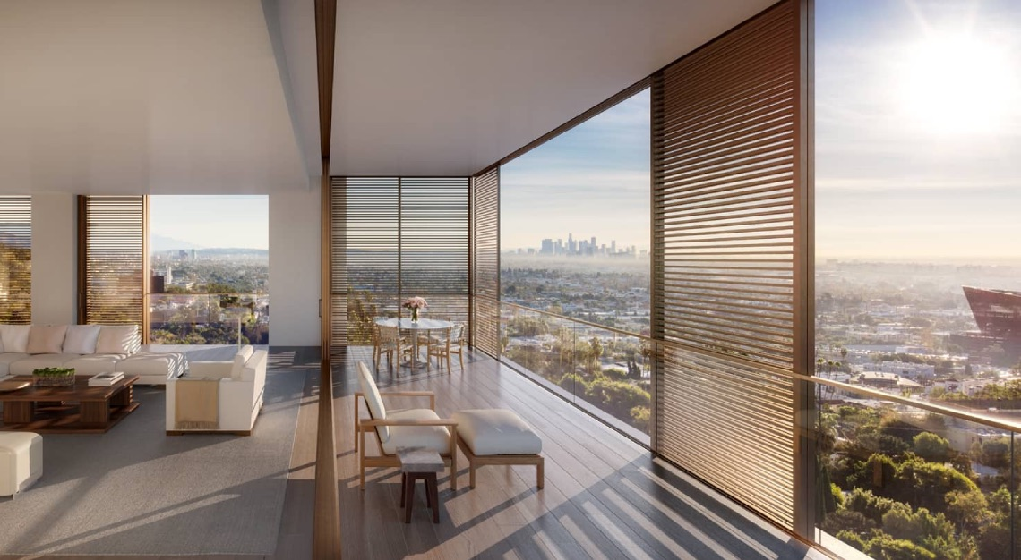 The Residences at the West Hollywood Edition, Los Angeles