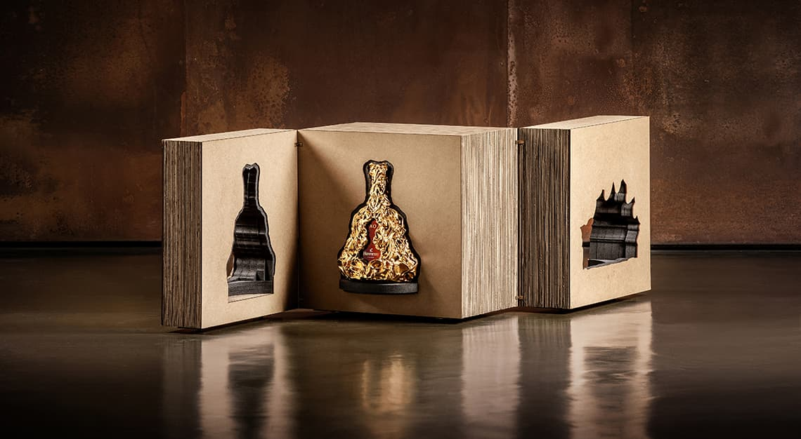 Hennessy XO x Frank Gehry 150th Anniversary Cognac