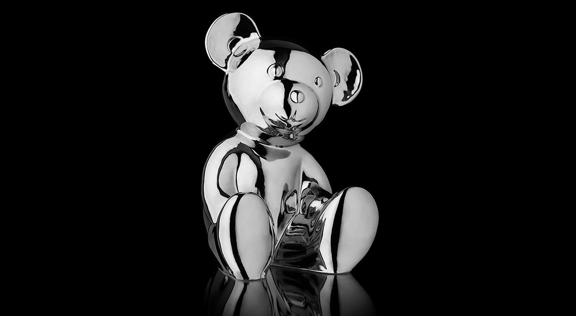 Michael Comte's platinum edition Breuni-Bear