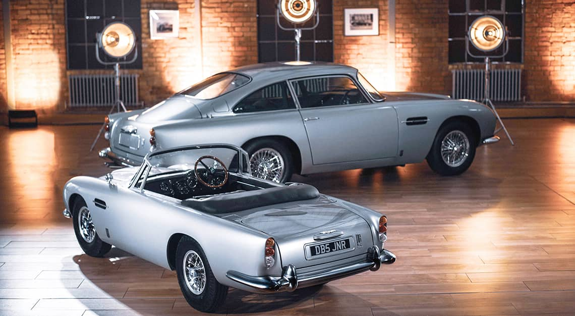 Aston Martin x The Little Car Company DB5 Junior