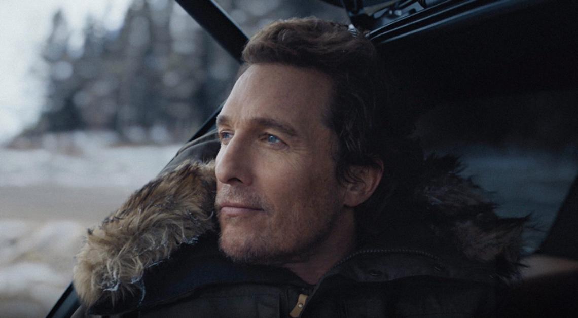 Matthew McConaughey lincoln nautilus