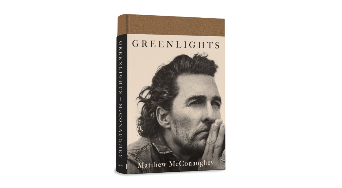 Matthew McConaughey's book Greenlights