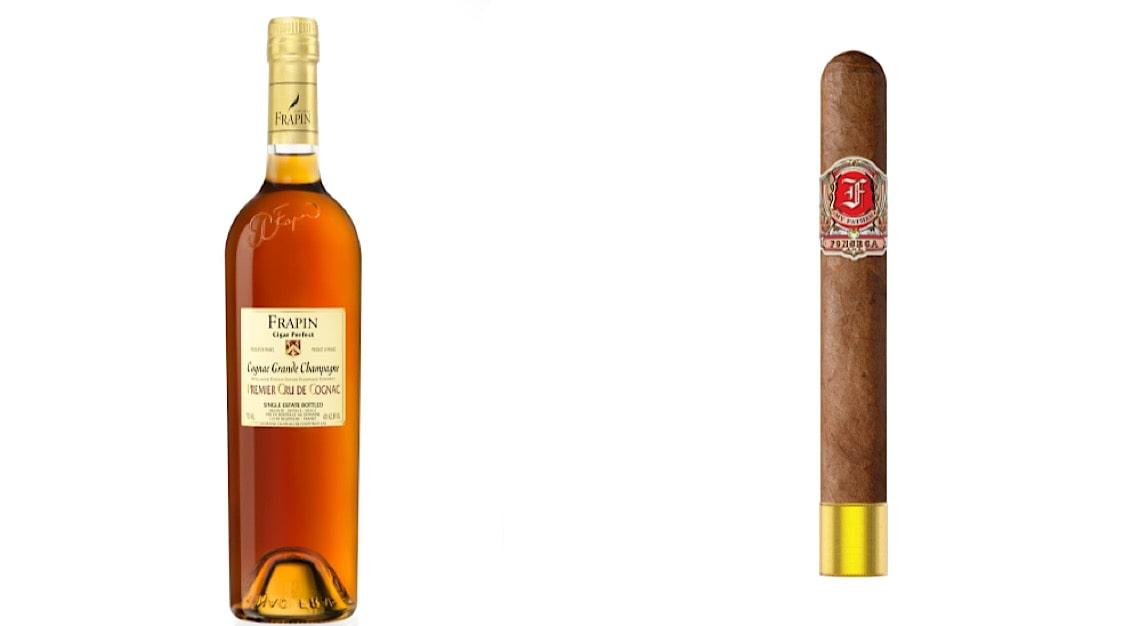 Frapin Cigar Blend Cognac + Fonseca