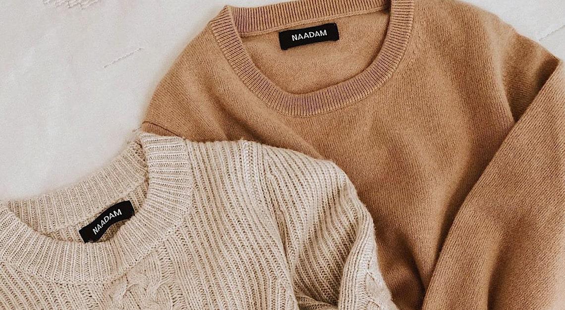 Naadam Cashmere Sweaters