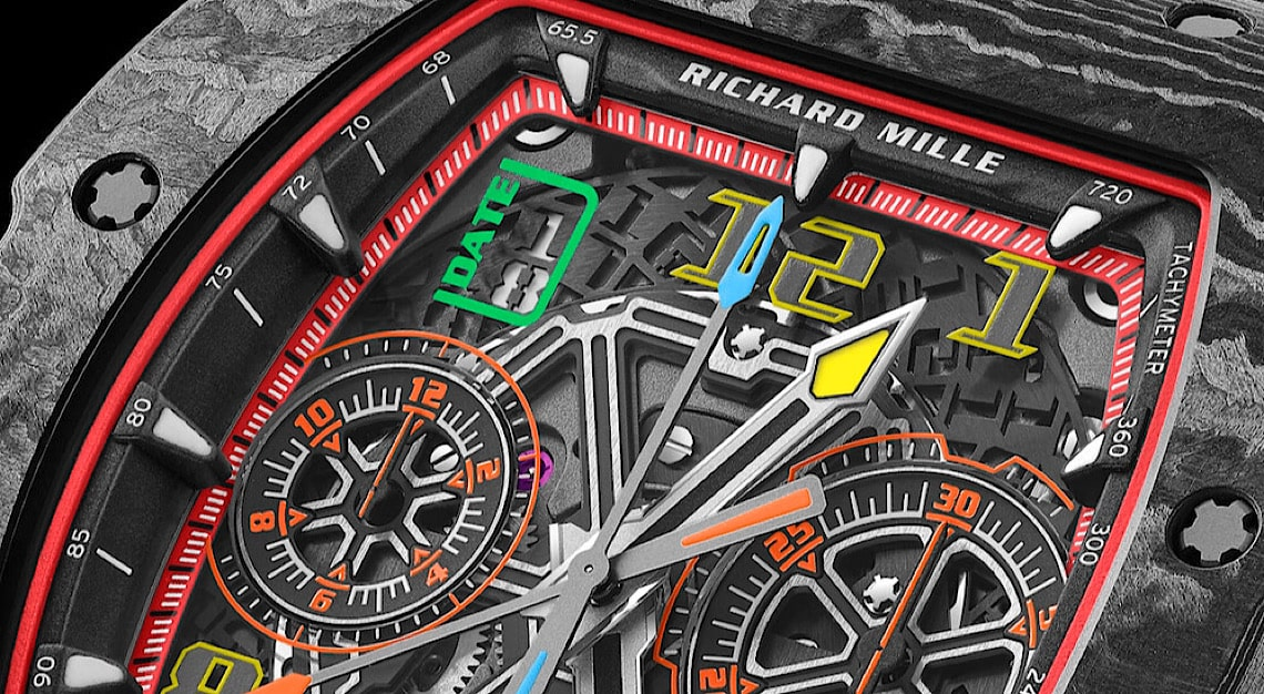 Richard Mille RM 65-01 Dial