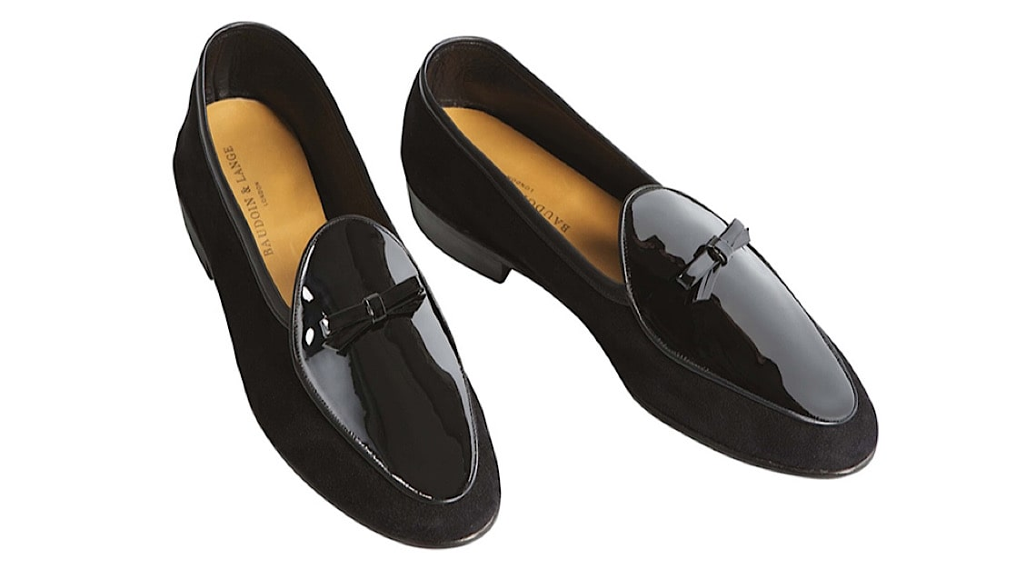 Baudoin & Lange Patent Loafers
