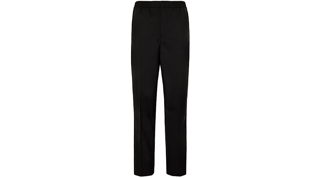 Mr. P Grosgrain-Trimmed Drawstring Tuxedo Trousers