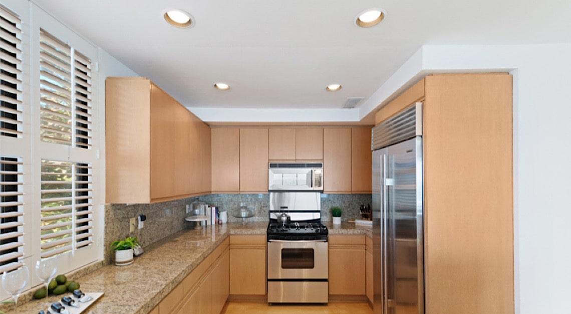 Gal Gadot Penthouse Kitchen