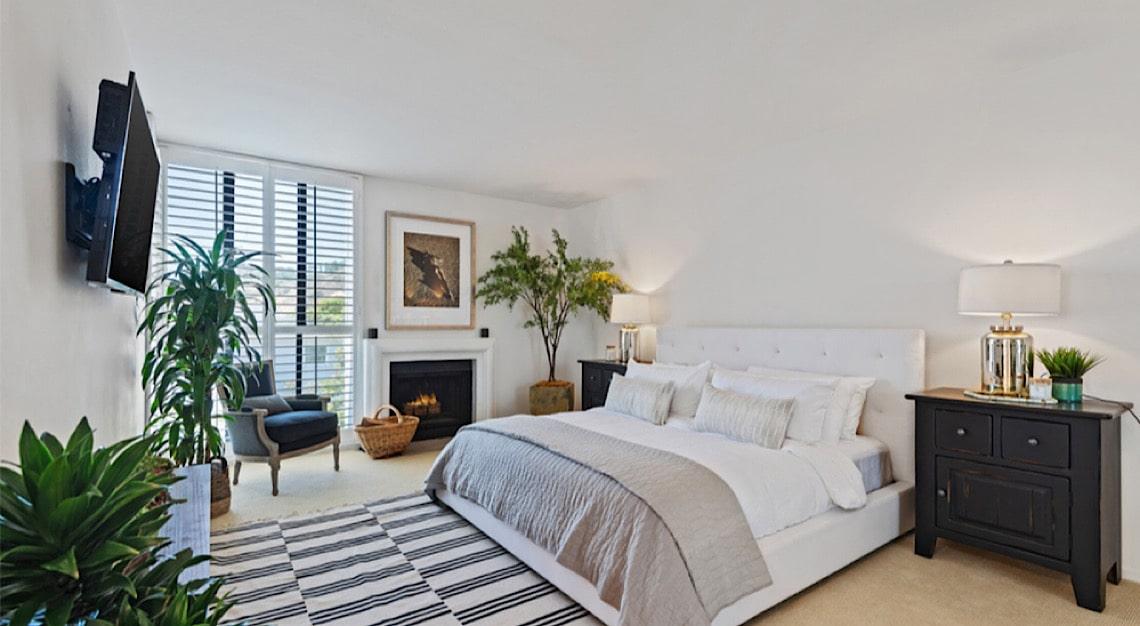 Gal Gadot Penthouse Bedroom