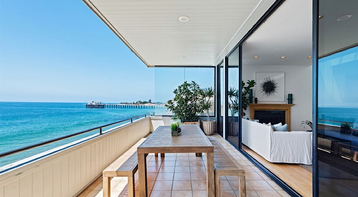 Gal Gadot Penthouse Balcony