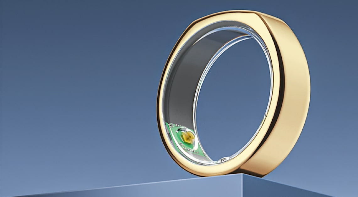 Heritage Gold Oura Ring