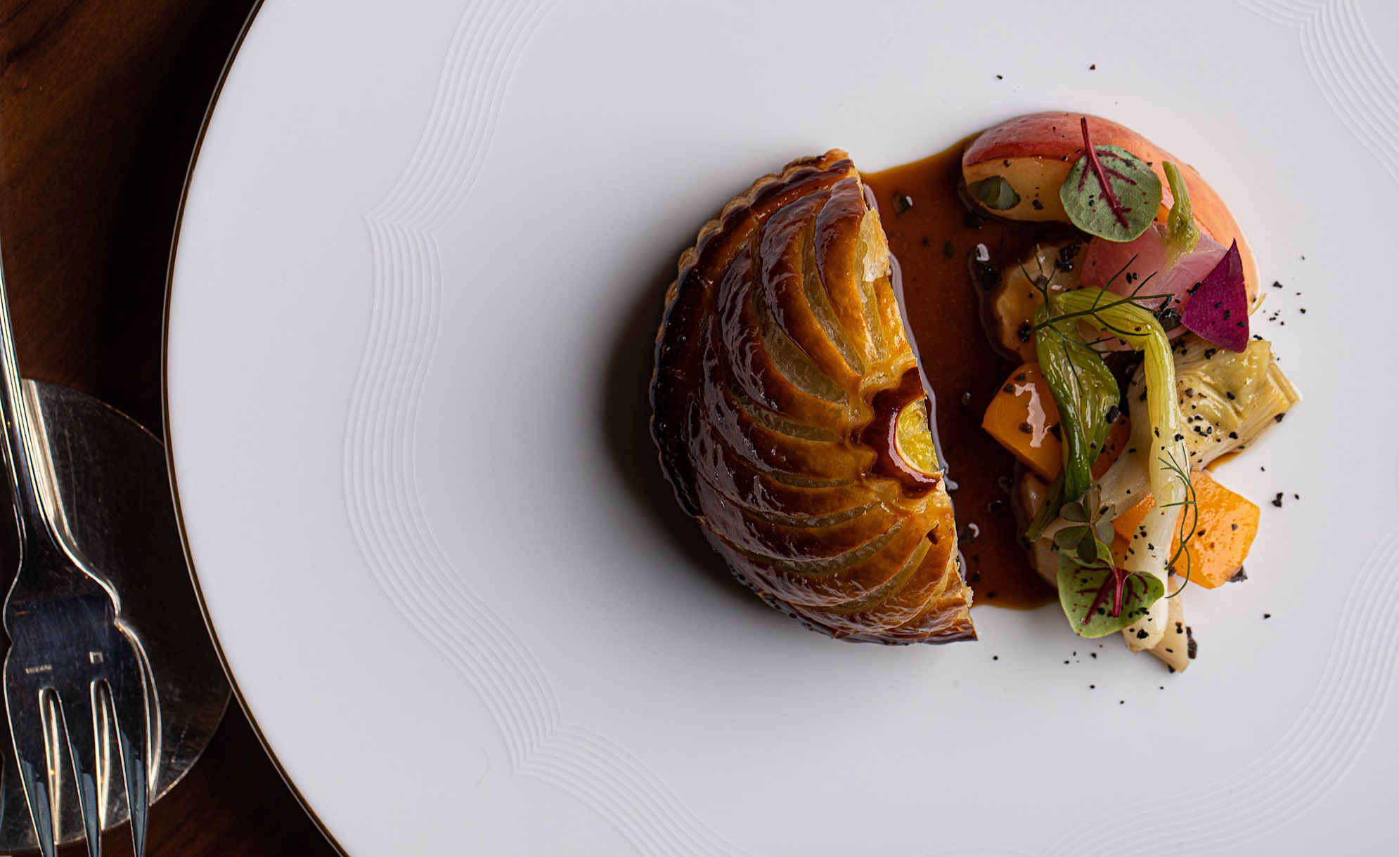 Pigeon Pithivier and Black Truffle