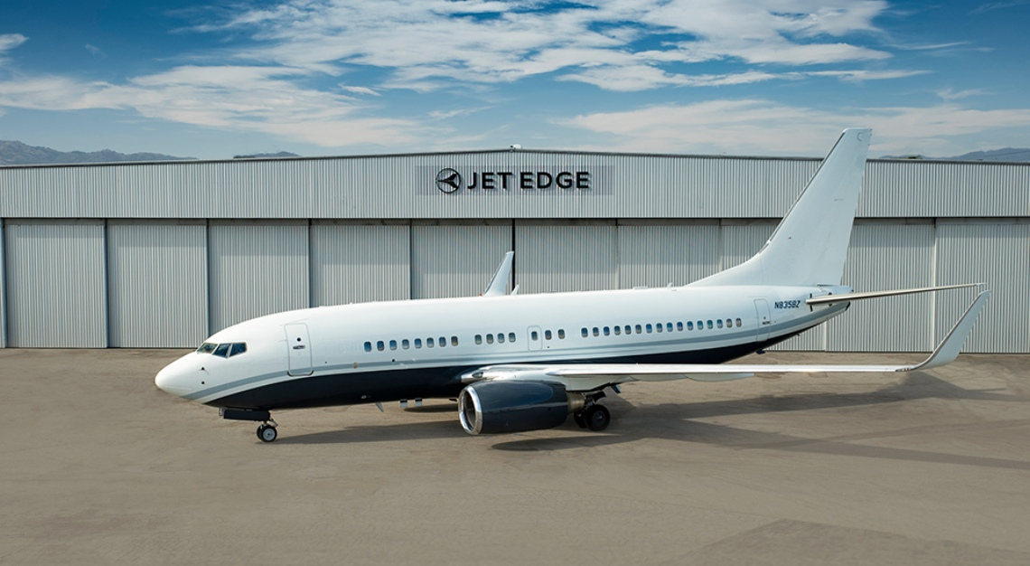 The Jet Edge BBJ 737