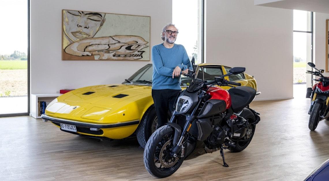 Chef Massimo Bottura Maserati