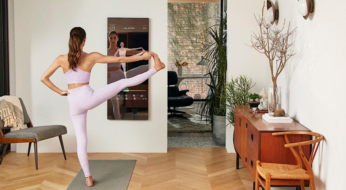 Mirror Home Gym Yoga