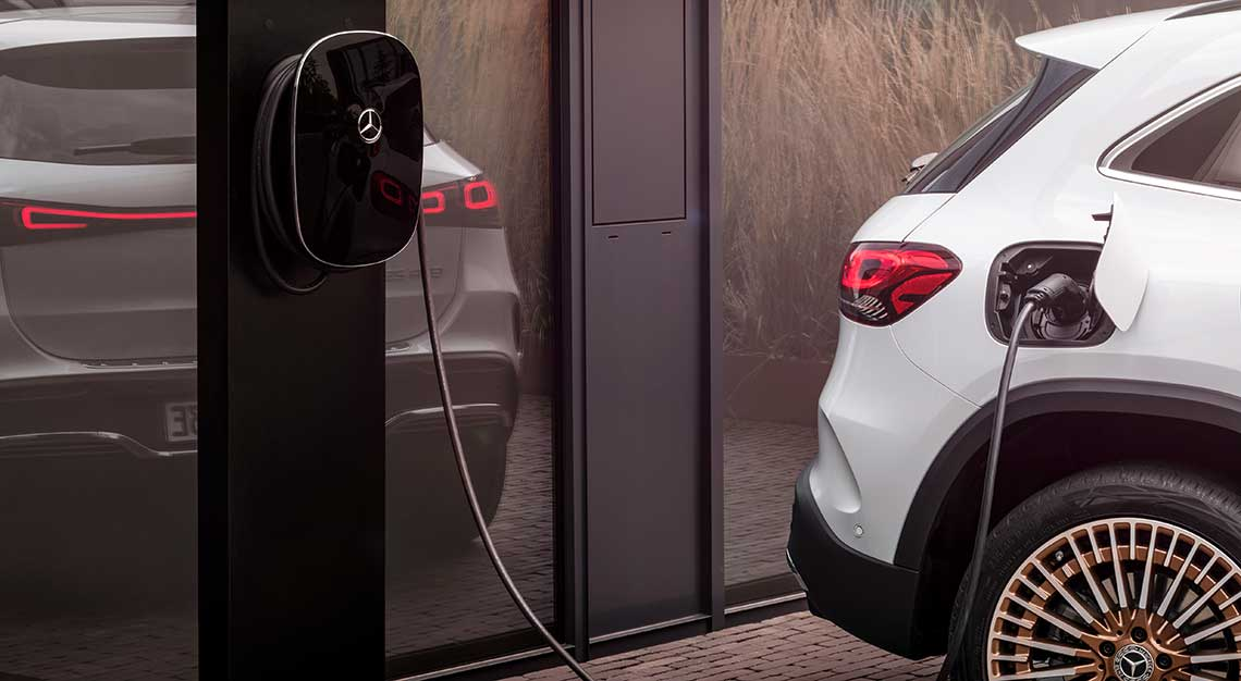 Mercedes-Benz EQA electric crossover