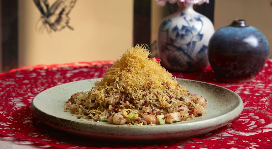 yi Chef Jereme's Golden Fried Rice with Preserved Meats