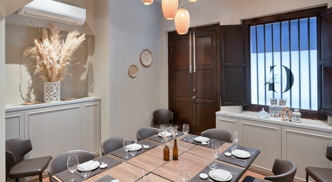 Restaurant Gaig Interior