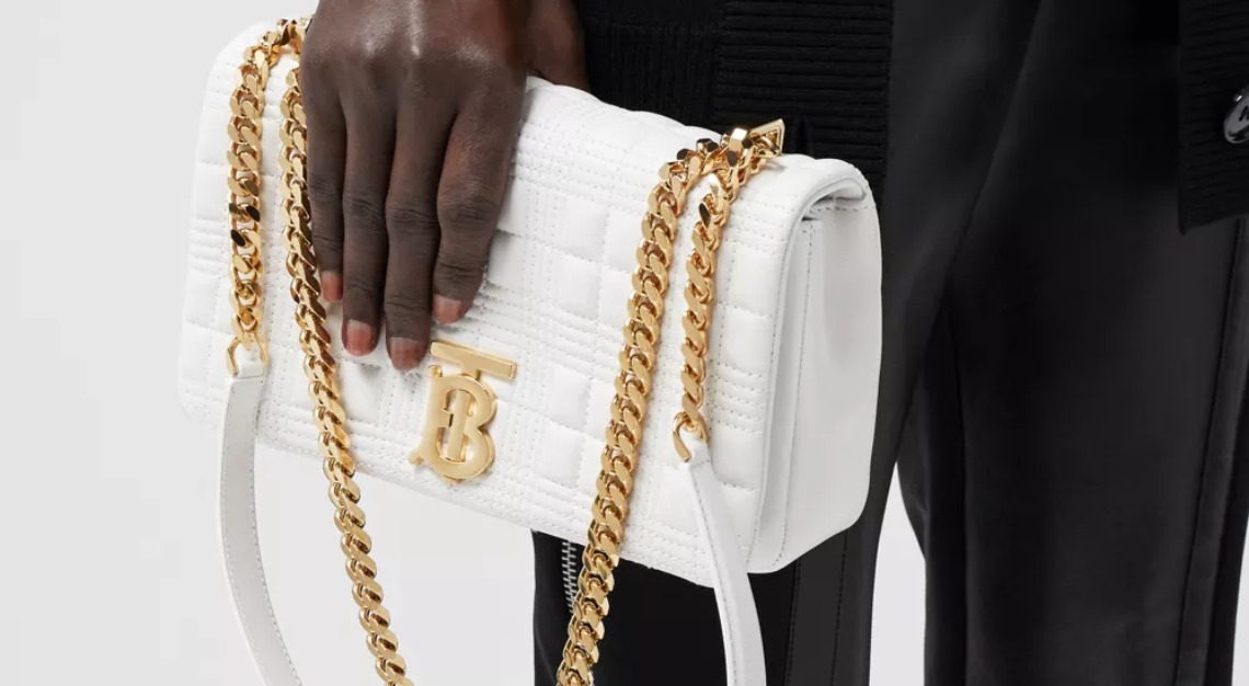Burberry Small Quilted Lambskin Lola Bag