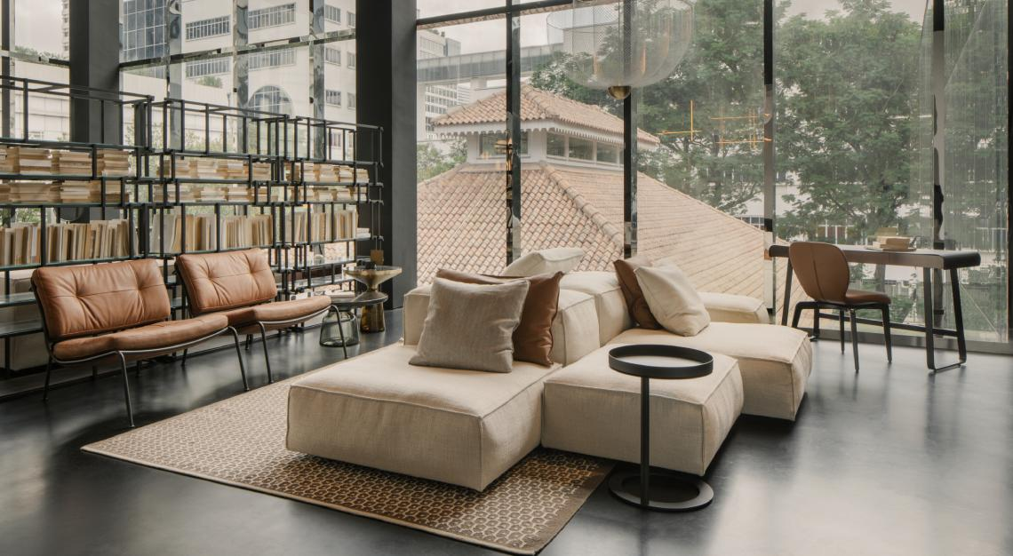 Living Divani at The Architects Apartment