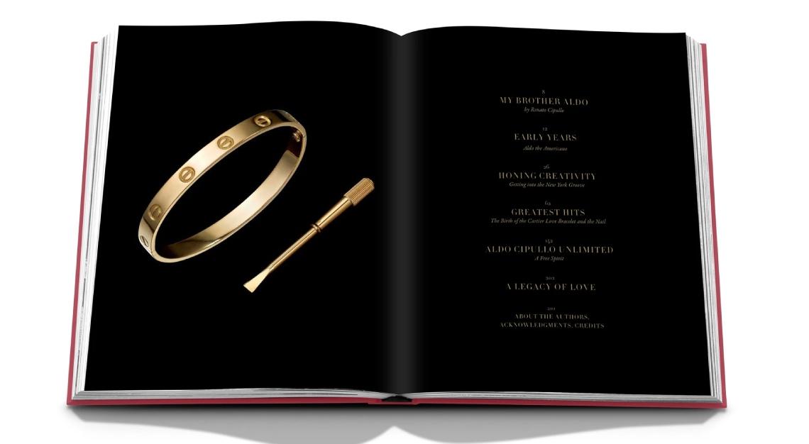 Cipullo Cartier love bracelet Assouline