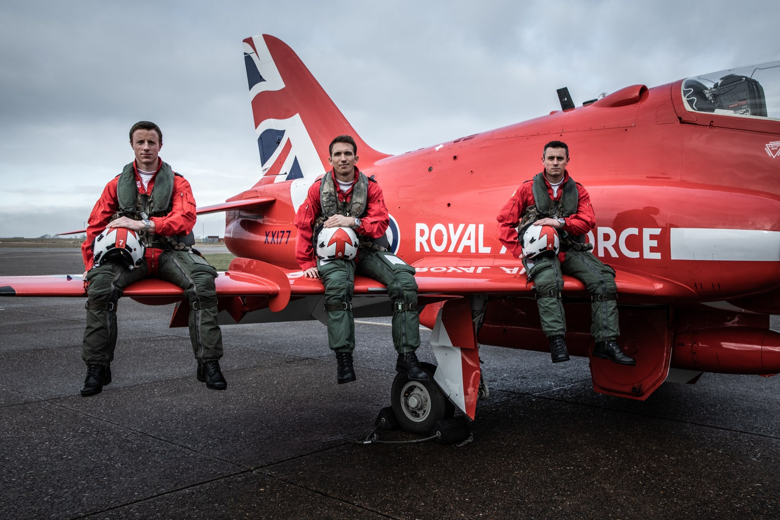 Red Arrows and Breitling