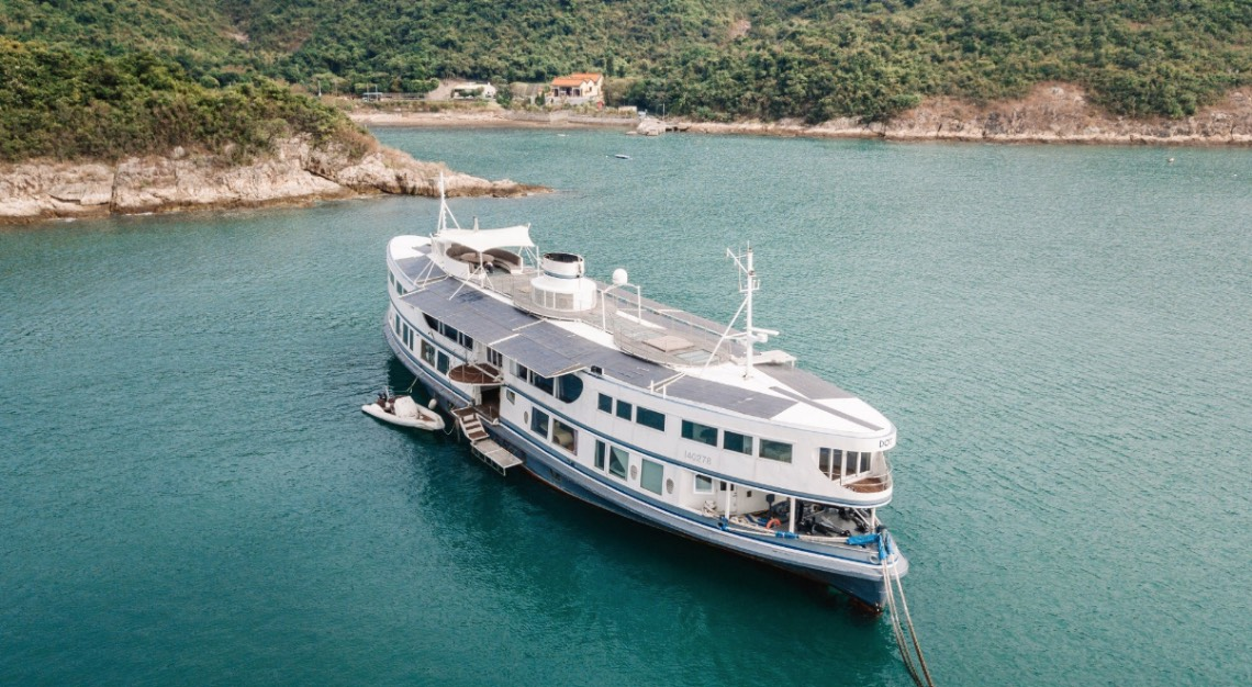 Hong Kong's Star Ferry superyacht