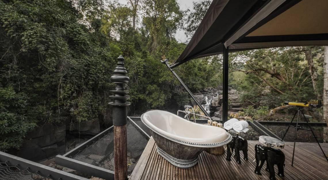 waterfall tent shinta mani bensley collection