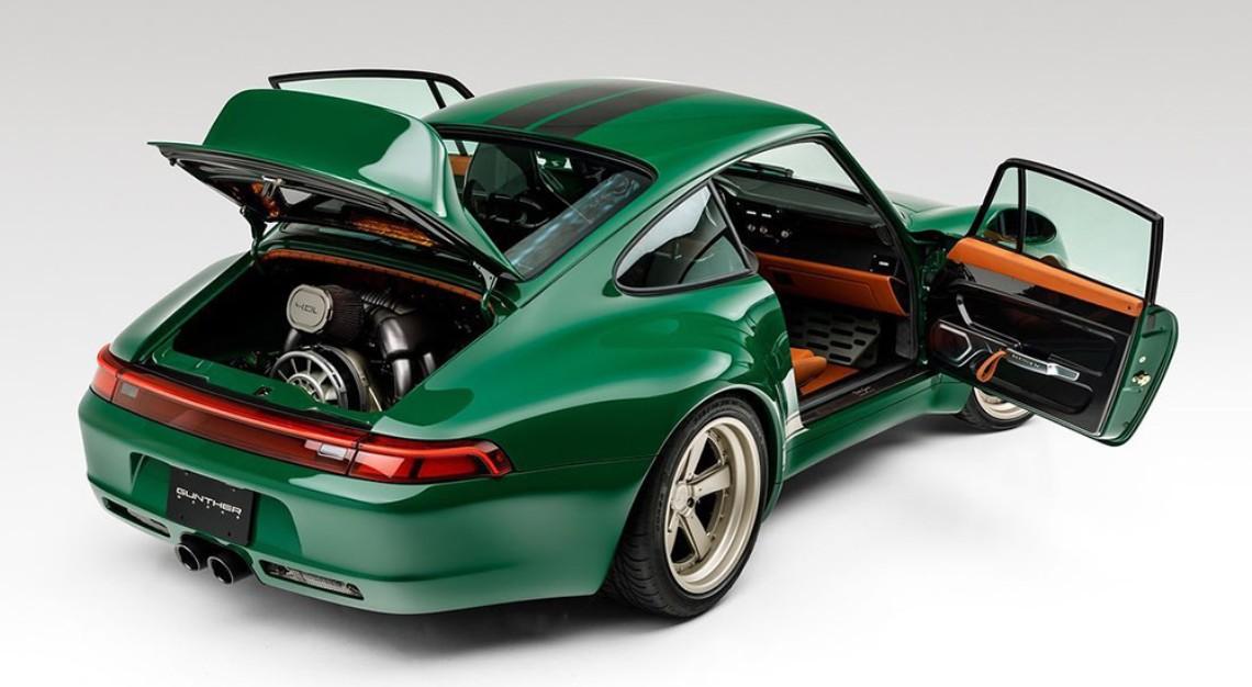 Gunther Werks' remastered Porsche 911