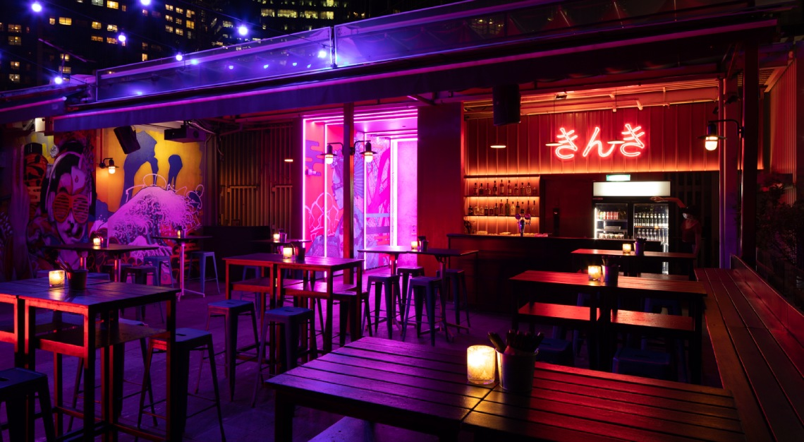 Kinki Restaurant + Bar Rooftop